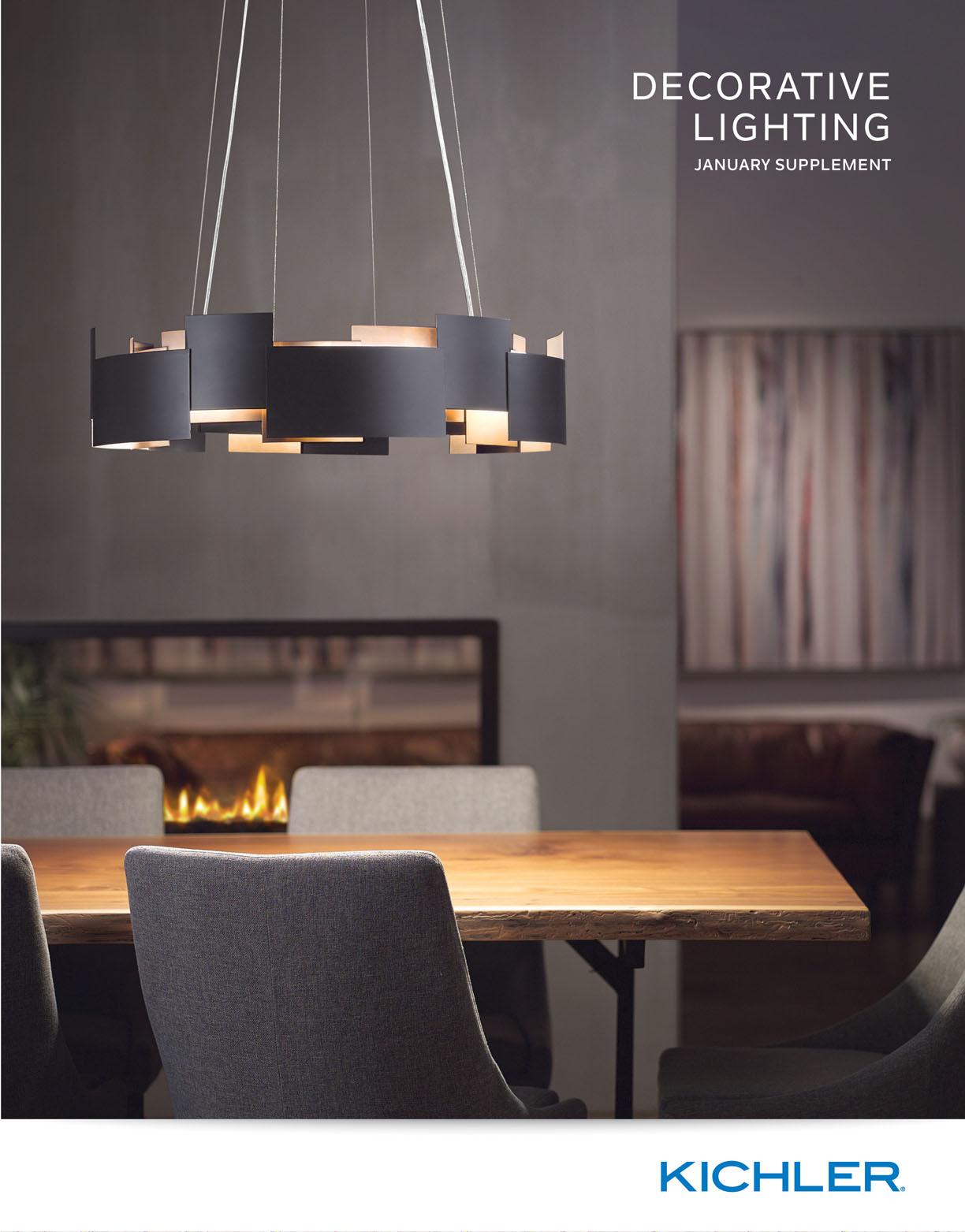 Kichler lighting 42548clp triad 3 light linear pendant classic pewter - Kichler Lighting Jan