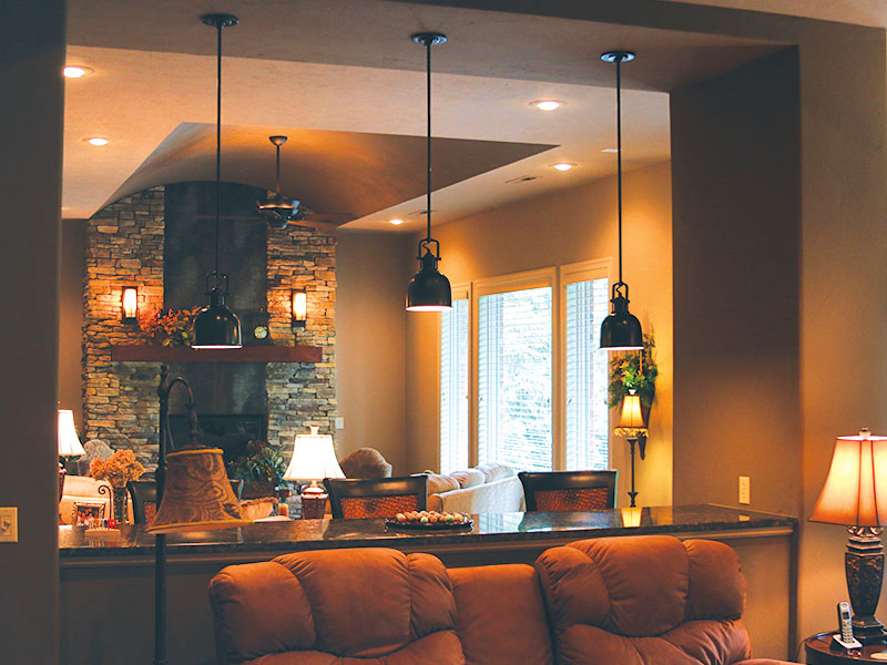 Living Room lighting Springfield Missouri