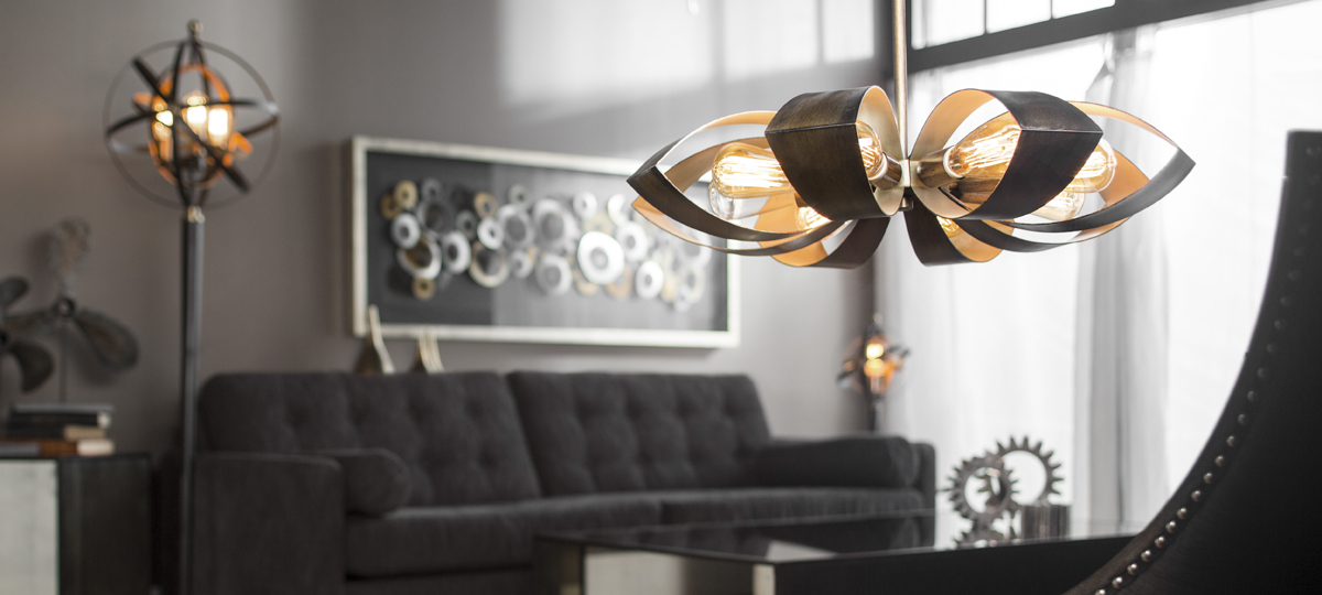 Use of Vintage Light Bulbs in Lighting Fixture